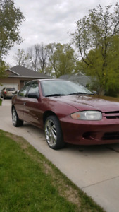 Safetied 2003 Chevrolet cavalier