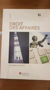 Droit des affaires  de Jean-Pierre Archambault