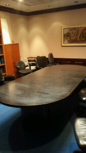beautiful confernace room table