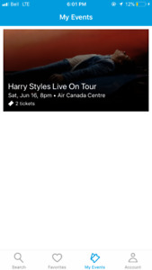 Harry Styles Concert Tickets!!!