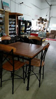 pub style dining set, Delivery Available