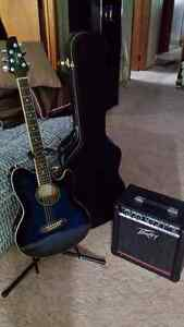 IBANEZ  ACCUSTIC TALMAN SHORT NECK GUITAR