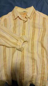 Shirt Tommy Bahama men's linen MEDIUM like new $10