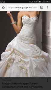 Size 8 maggie sottero decadence wedding dress