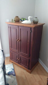 Solid Pine Armoire