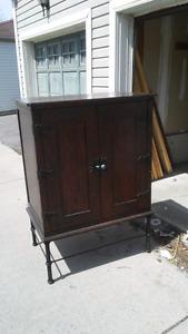 Wardrobe- Repurposed Cabinet