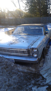 65 galaxie convertible - reduced price!