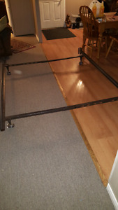 Queen or double bed frame for sale.