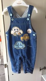 6-9 month dungarees brand new