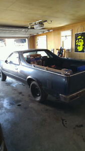 Muscle car Elcamino 1979 projet