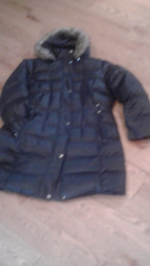 Utex woman's warm winter puffer coat