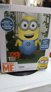 Brand New Inflatable Minion Halloween 4.5 Feet Tall