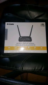 New wireless dual band router D-link