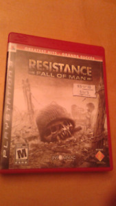 Jeux playstation 3 Resistance fall of man