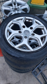 Ford transit alloys alloy wheels 18inch