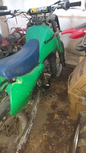 Dirtbikes for Sale or Trade.