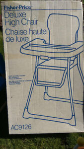 Fisher Price Baby High Chair (New)