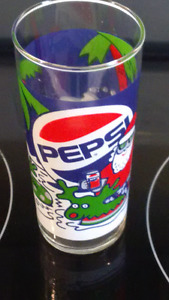 Collectors Holiday Pepsi Glass