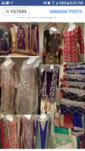 Latest collection of Pakistani dresses