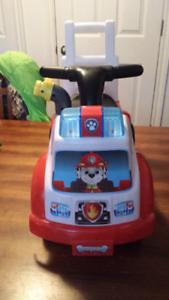 Paw Patrol Marshall ride on car