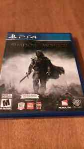 Shadows of mordor playstation 4 neuf