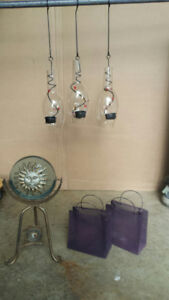 Candle Holders & Wicker Baskets