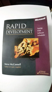 Rapid Development, Steve McConnell