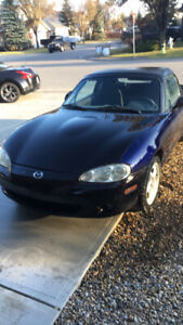 Salvage Titled 2004 Mazda Miata  For Sale