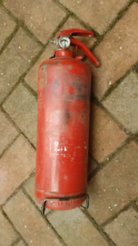 Fire extinguisher large