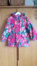 Girls Joules raincoat
