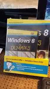 Windows 8 For Dummies package and DVD Tutorial