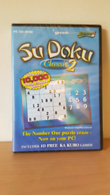 Green Street Games Sudoku Classic 2 PC CD-ROM Game