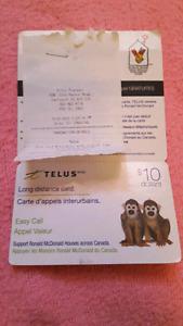 Telus Easy Pay card