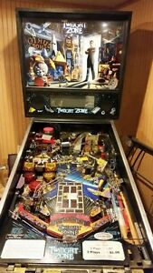 Twilight Zone pinball