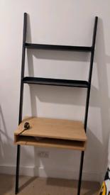 Habitat Drew Black Ladder Desk