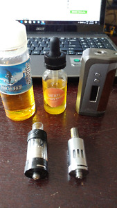 Vape Mode with Tanks and Juice