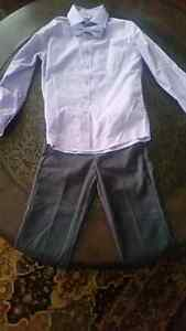 Boys dress shirt and bow tie and dress pants $15 for both