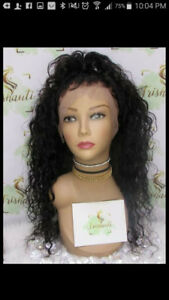 100% virgin Brazilian Human Hair wig (customized)