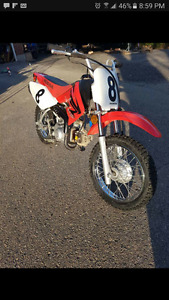 Like new 2007 honda crf70f