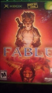 Fable on the XBOX (Not For Resale case)