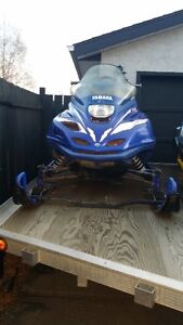 Sleds and Trailer for sale