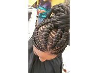 Afro Caribbean hairdresser specialize in braids,weave,kids hairstyles and more.