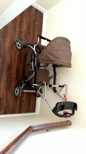 Baby Trend sit-and-stand stroller