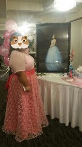 Pink Grad/Formal Dress (Custom Made)