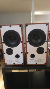 Mission 727 Speakers Restored With Stands
