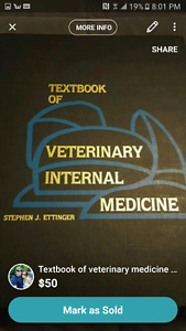 Veterinary Medicine Text Book