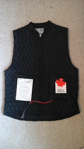 Black Jack Heated Motorcycle Vest - Never Worn  - Tags Attached