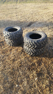 """25x10x12 & 25x8x12"" tires  ""27x9x12"" tires for 12"" inch rims"