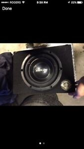 10 inch sub and amp