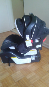 Graco click connect snugride 30 car seat and base